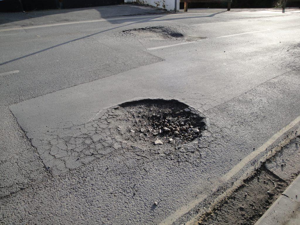 The Proper Way to Fill a Pothole