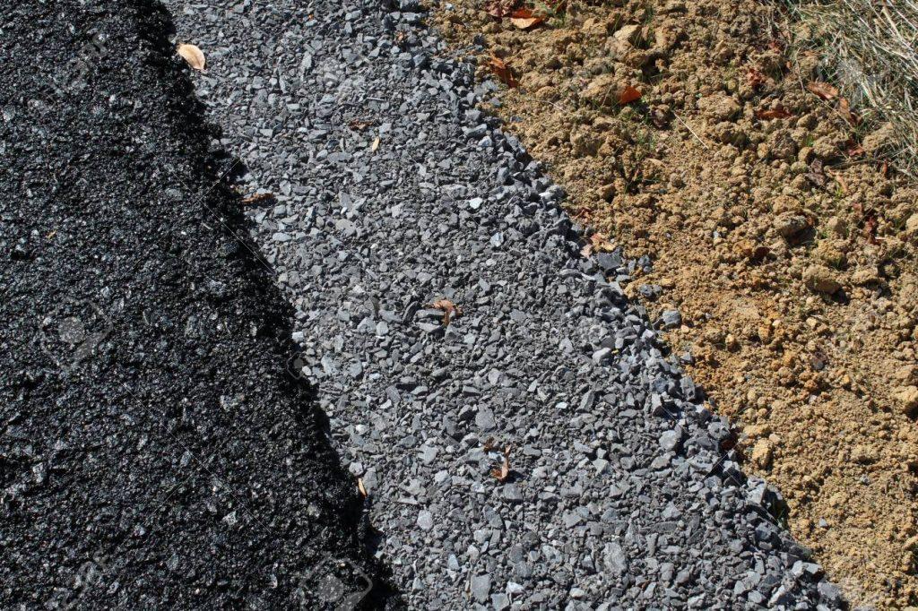 Can you install asphalt over dirt